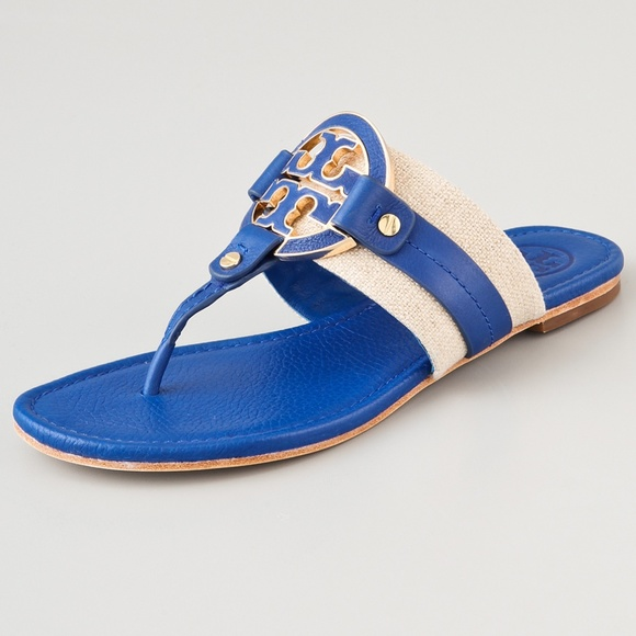 1fd64882710 SALE!! Tory Burch Amanda Thong Sandals. M 5bc77eb6aa8770b444218950
